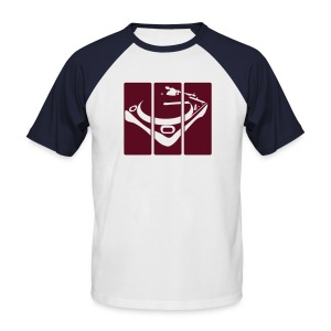 Split Decks - Men's Baseball T-Shirt