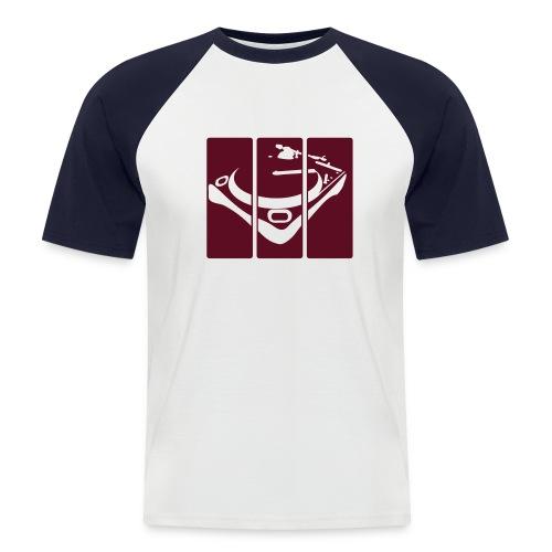 Split Decks - Men's Baseball T-Shirt