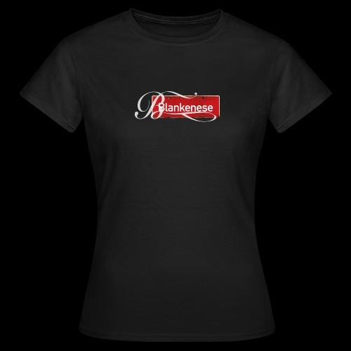 Blankenese-Schild mit Schmuckinitial - Frauen T-Shirt