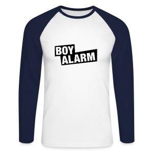 BOYALARM - Baseballshirt (m) - Männer Baseballshirt langarm