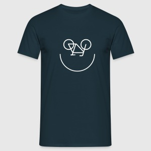 Bike Smiley Tee shirts - T-shirt Homme
