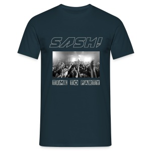 SASH! - Time To Party  (NEW) - Men's T-Shirt
