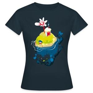 L'ile - T-shirt Femme