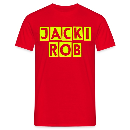 Jacki Rob One Yellow Edition - Männer T-Shirt