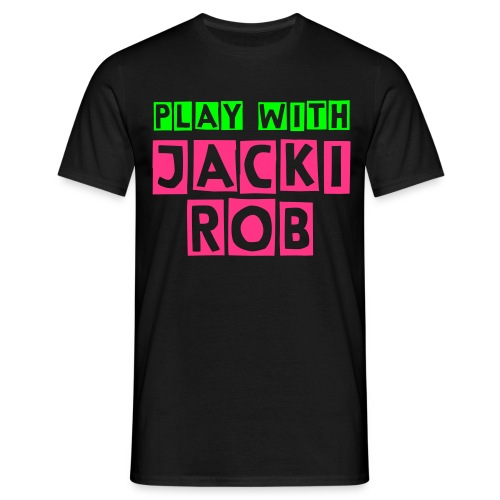 Play with Jacki Rob GP Color Edition - Männer T-Shirt