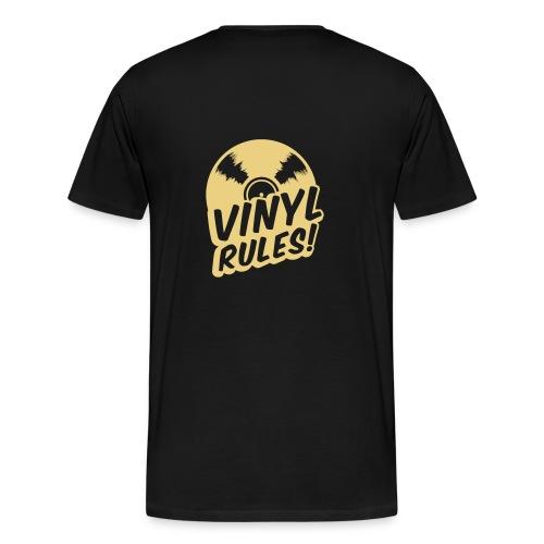 Männer Premium T-Shirt - Herren T-Shirt mit bedruckter Vorder- und Rückseite