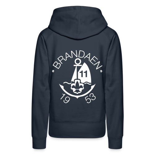 Brandaen Vrouwensweater met capuchon - Vrouwen Premium hoodie