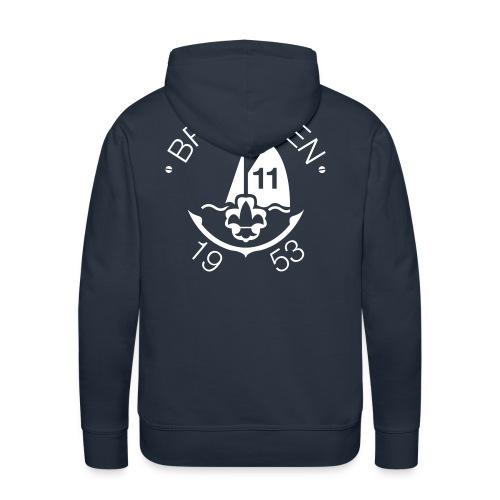 Brandaen Mannensweater met capuchon - Mannen Premium hoodie
