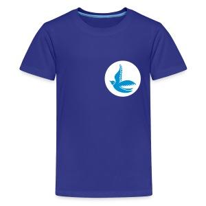 Cardiff City Bluebirds (Retro) - Teenage Tshirt - Teenage Premium T-Shirt