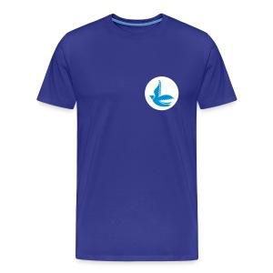 Cardiff City Bluebirds (Retro) - Up to 4XL Men's Tshirt - Men's Premium T-Shirt