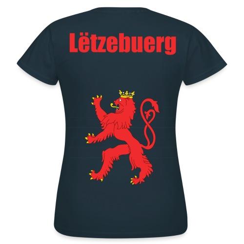 FrauenT-shirt Roude Léif - Frauen T-Shirt