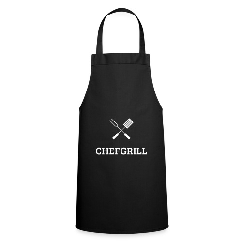 Grillschürze (weißes Logo) - Kochschürze