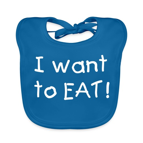 I want to EAT! - Bio-slabbetje voor baby's