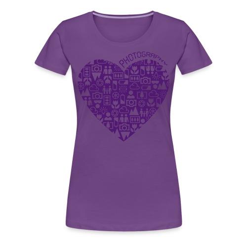Love Photography - Frauen Premium T-Shirt