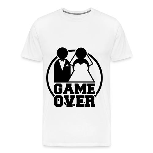 game over  - Maglietta Premium da uomo