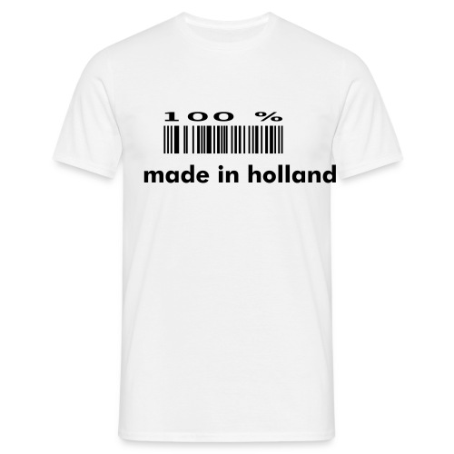 100% holland - Mannen T-shirt