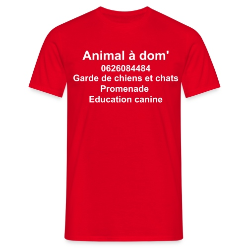 Animal a dom - T-shirt Homme