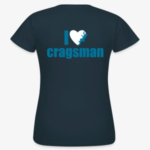 I love cragsman (women) - Frauen T-Shirt