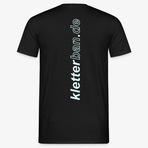 kletterban.de Promoshirt - Männer T-Shirt