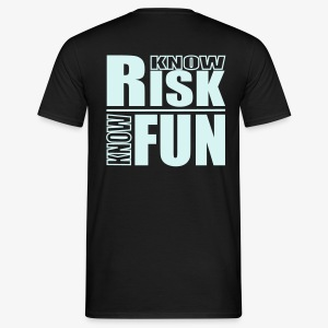 know risk / know fun - reflektierend (men) - Männer T-Shirt