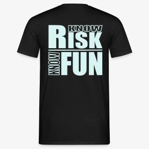 know risk / know fun - reflektierend (men) - Männer T-Shirt
