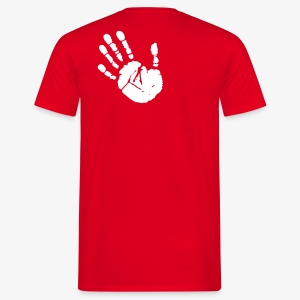 Chalk-Hand (men) - Männer T-Shirt
