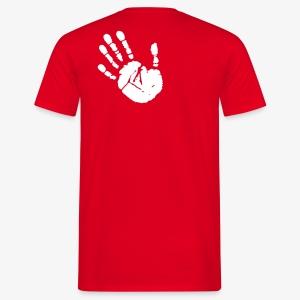 Chalk-Hand (men) - Männer T-Shirt