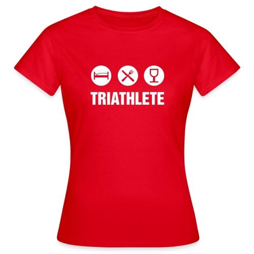 Triatlhète - T-shirt Femme
