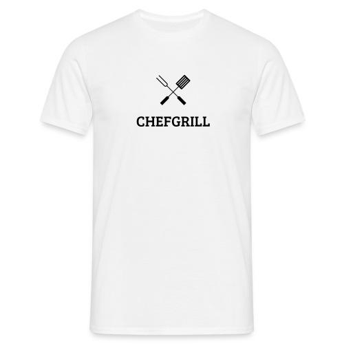 Männer T-Shirt (schwarzes Logo) - Männer T-Shirt