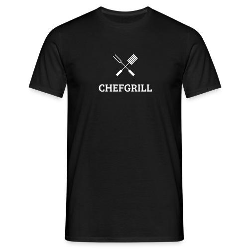 Männer T-Shirt (weißes Logo) - Männer T-Shirt
