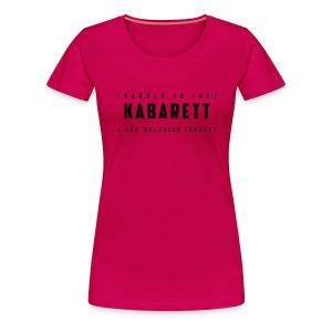 Frauen Shirt Kabarett-Founded-1901-Style1 farbig - Frauen Premium T-Shirt