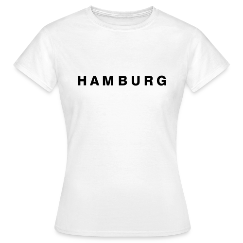 HAMBURG T-Shirt - Frauen T-Shirt