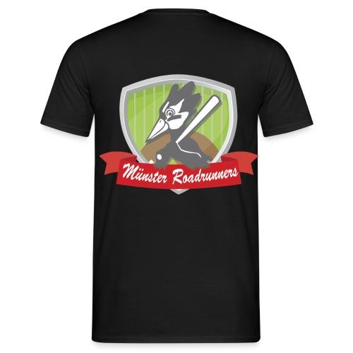 T-Shirt Logo hinten - Männer T-Shirt