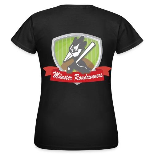 T-Shirt Frauen Logo hinten - Frauen T-Shirt