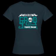 Camisetas ~ Camiseta mujer ~ Monkey Island: Scumm Bar Grog (+Recipe on back)