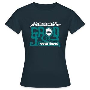 Monkey Island: Scumm Bar Grog (+Recipe on back) - Camiseta mujer