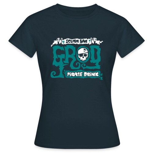Monkey Island: Scumm Bar Grog (+Recipe on back) - Camiseta mujer