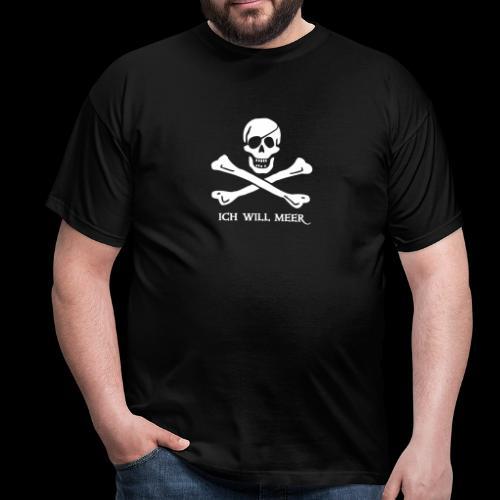 ~ Ich will Meer ~ - Männer T-Shirt