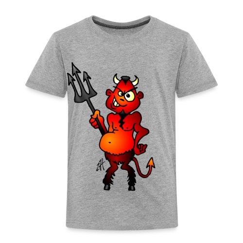 Fat red devil - Kids' Premium T-Shirt