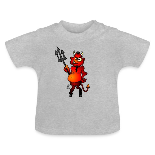 Fat red devil - Baby T-Shirt