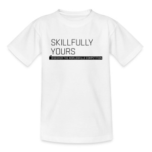 Skillfully Yours Teenager T-Shirt - Teenage T-shirt