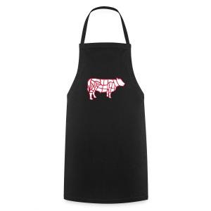 Vache boucher découpe - Tablier de cuisine