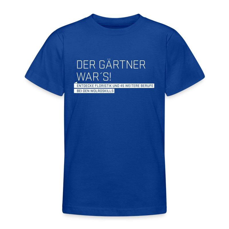 Der Gärtner war's Teenager T-Shirt - Teenage T-shirt