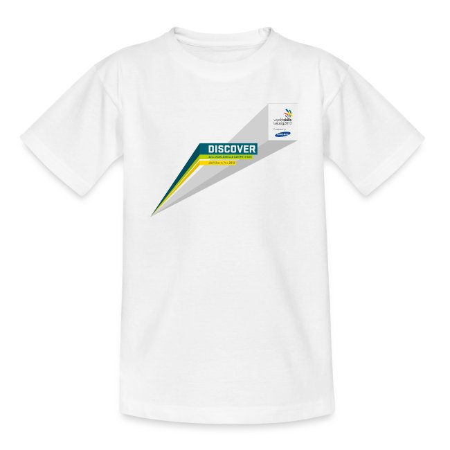 Discover Logo Teenager T-Shirt