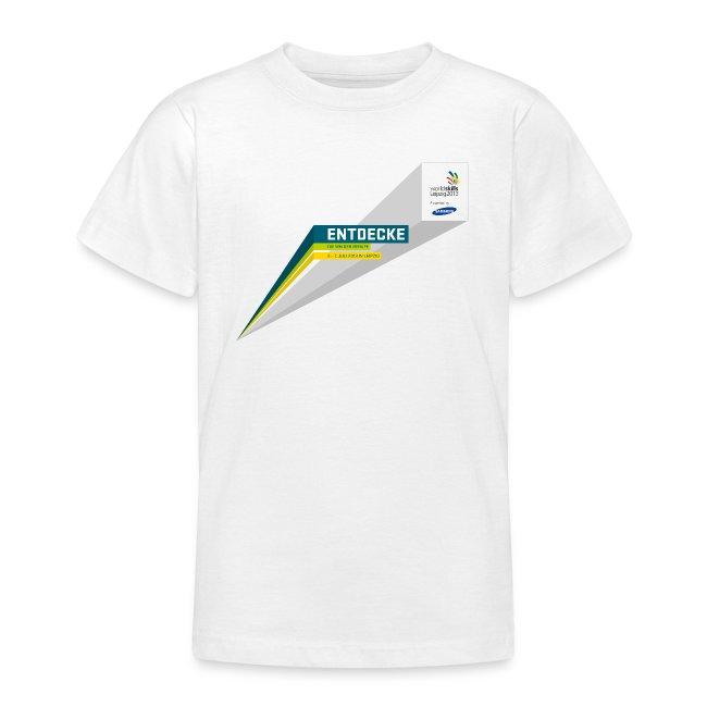Entdecke Logo Teenager T-Shirt