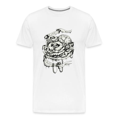 Time Running Out - Männer Premium T-Shirt