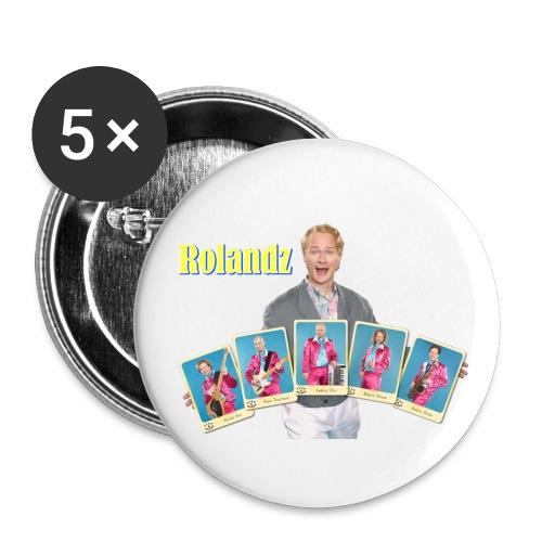Idolknapp - Rolandz - Mellanstora knappar 32 mm