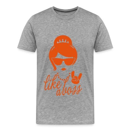 Woman like a boss T-Shirt Traps - Maglietta Premium da uomo