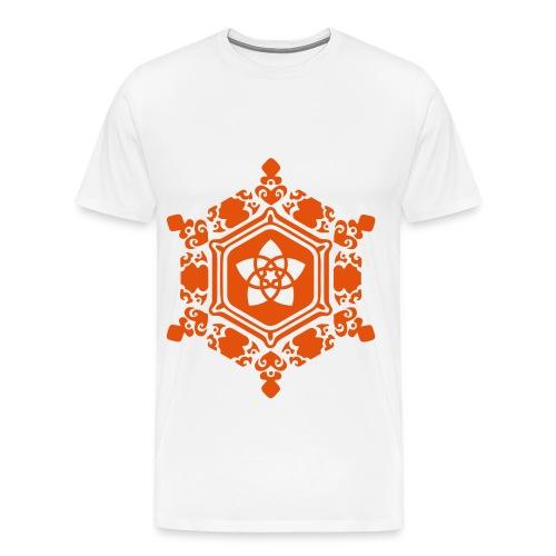 Orange Design T-Shirt Traps - Maglietta Premium da uomo
