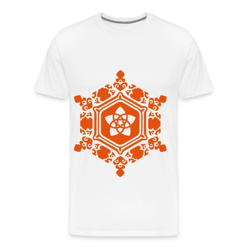 Orange Design T-Shirt Traps - Maglietta Premium da uomo